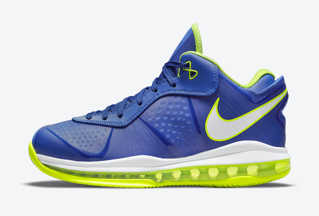 Nike LeBron 8 V2 Low Sprite 2021 DN1581-400 Release Date - SBD