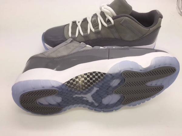 "outlet store 88071 76f42 2018年5月26日発売】Air Jordan 11 Low ""Cool Grey""【エア ..."