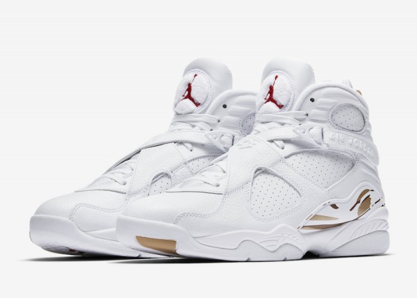 "premium selection 91782 c1d25 Air Jordan 8 OVO ""White"". Air Jordan 8 OVO Color  White Metallic Gold-Varsity  Red-Blur Style Code  AA1239-135. Release Date  February 16, 2018. Price    225"