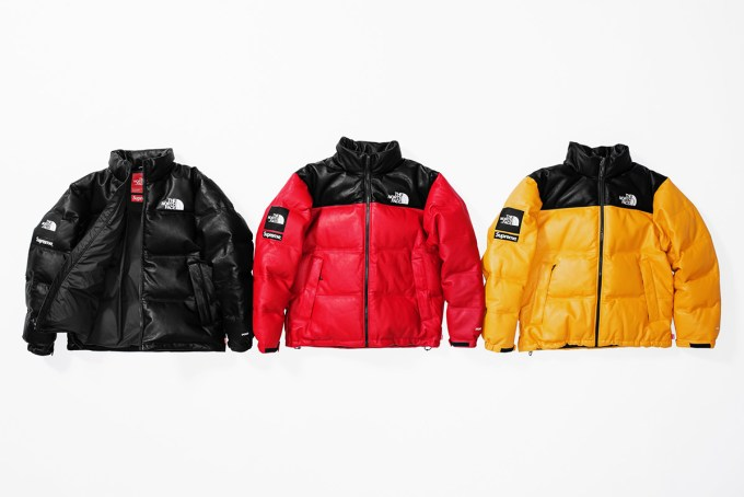 SUPREME × THE NORTH FACE 2017FW イメージ