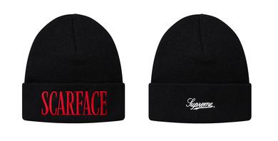 SUPREME × Scarface イメージ