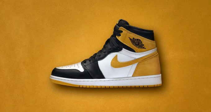 "AIR JORDAN1 ""YELLOW OCHRE"""