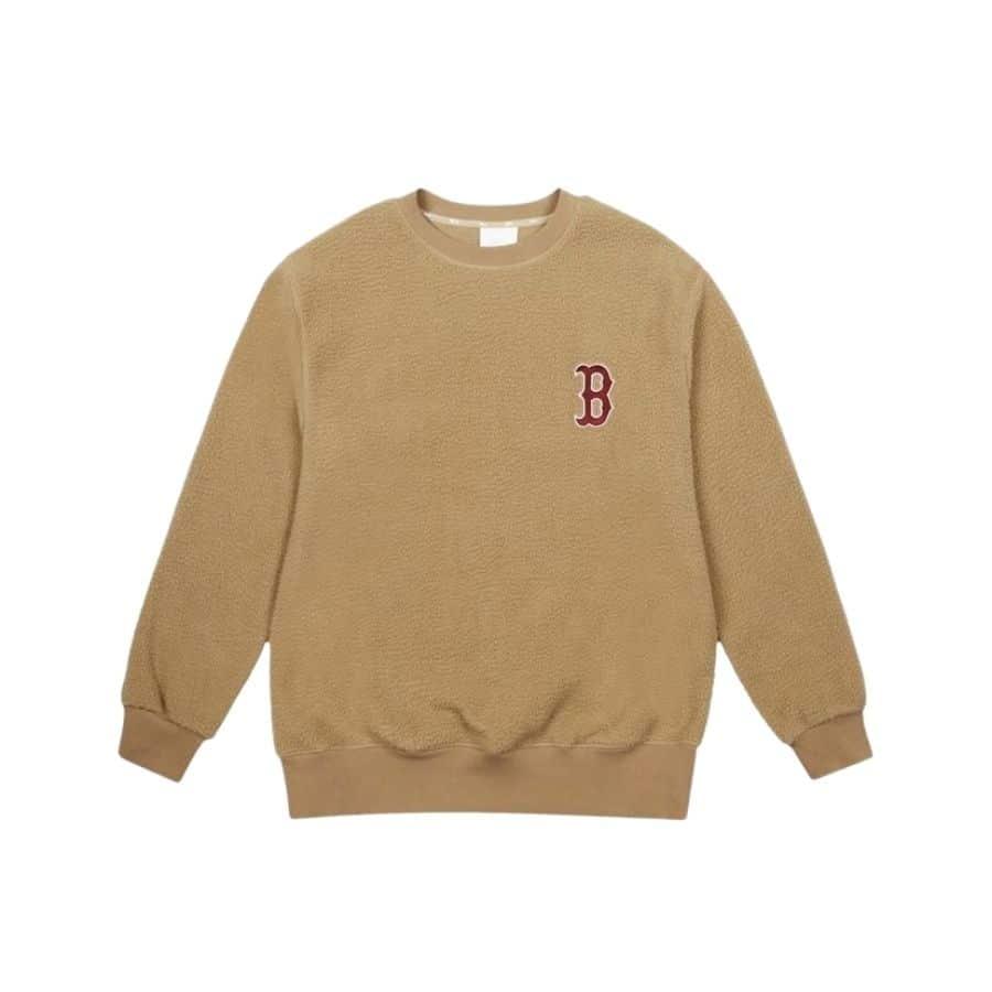 ao-sweater-mlb-fleece-basic-logo-overfit-boston-red-sox-brown-31mtf1061-43b