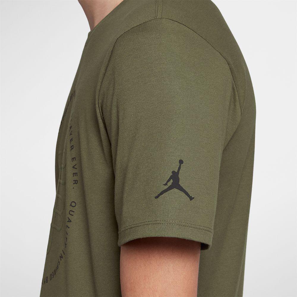 b035854360a0 Shirts Green Jordan Olive