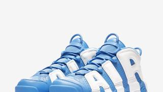 "9/1 モアテン直リンク Nike Air More Uptempo ""University Blue"" 921948-401"