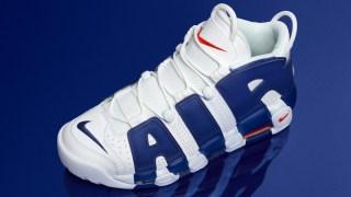 """【モアテン】ナイキ モア アップテンポ """"ニックス"""" / Nike Air More Uptempo """"Knicks"""" 921948-101"""