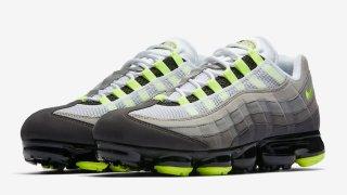 """【8/16】ナイキ エアヴェイパーマックス95 / Nike Air VaporMax 95 """"Neon"""" AJ7292-001"""