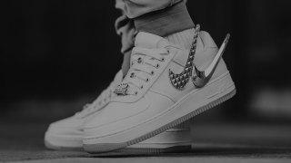 "【2018SS】トラヴィス・スコット x ナイキ エアフォース1 / Travis Scott x Nike Air Force 1 Low ""Sail"" AQ4211-101"