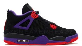 【リーク】エアジョーダン4 NRG / Air Jordan 4 NRG Black/University Red-Court Purple AQ3816-056