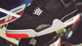 """【5/11】生誕30周年記念モデル エアジョーダン4 OG """"ブレッド"""" / Air Jordan 4 """"Black Cement"""""""