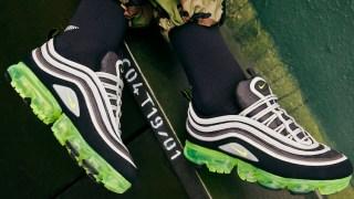 【3/9】ナイキ エア ヴェイパーマックス97 ネオン / Nike Air VaporMax 97 AJ7291-001