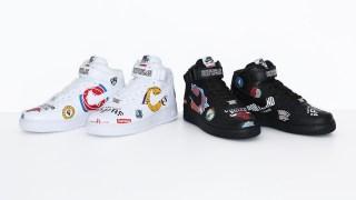 【3/12 10:00】シュプリーム x ナイキ x NBA エアフォース1 MID / Air Force1 Mid Supreme x Nike x NBA