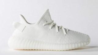 【1/26】イージーブースト 350 V2 トリプルホワイト 2度目の再販 / adidas Yeezy Boost 350 V2 CP9366