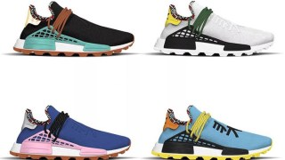 "【2018/11】ファレル x アディダス NMD Hu 新4カラーモデル / Pharrell Williams x adidas NMD Hu ""Inspiration"" Pack"