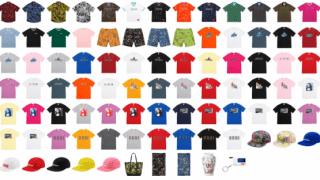【6/30】シュプリーム 2018SS WEEK19 配置 & 価格一覧 / Supreme Summer T-Shirts