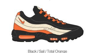 【リーク】カーハート x ナイキ エアマックス95 / Carhartt WIP x Nike Air Max 95