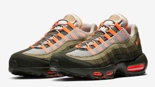"""【8/16】ナイキ エアマックス95 オリーブ / Nike Air Max 95 """"Neutral Olive"""" AT2865-200"""