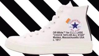 【リーク】オフホワイト x コンバースチャックテイラー / Off-White x Converse Chuck Taylor