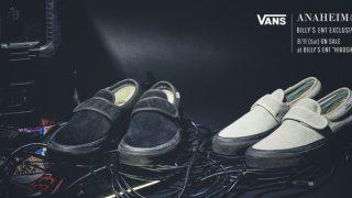 """【8/11】バンズ x ビリーズ 広島店限定先行発売 /  VANS x BILLY'S EXCLUSIVE """"ANAHEIM47"""""""