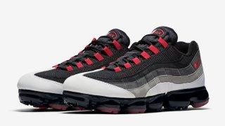 """【9/21】ナイキ エアヴェイパーマックス95 ホットレッド / Nike Air VaporMax 95 """"Hot Red"""" AJ7292-101"""