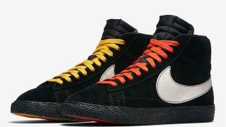 """【11/16】ナイキ ブレーザーMid ニューヨーク LA / Nike Blazer Mid """"NY vs LA"""" AT9978-001"""