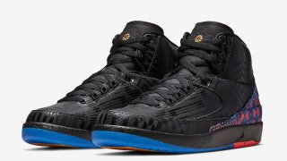 """【1/18】エアジョーダン2 ブラックヒストリーマンス / Air Jordan 2 """"BHM"""" BQ7618-007"""