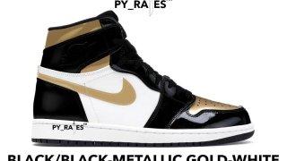 """【2019夏】エアジョーダン1 OG ゴールドトゥ / Air Jordan 1 High OG WMNS """"Gold Toe"""""""
