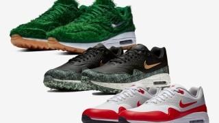 【2019/1】ナイキ エアマックス1 ゴルフコレクション / Nike Air Max 1 Golf BQ4804-300, AQ0863-100, BQ4804-001