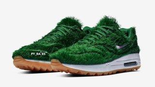 """【リーク】隣の芝生でホールイン・ワン…ナイキエアマックス1 NRG/ Nike Air Max 1 NRG """"Grass"""""""