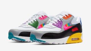 """【6/1】ナイキ エアマックス90 ビートゥルー / Nike Air Max 90 """"Be True""""CJ5482-100"""