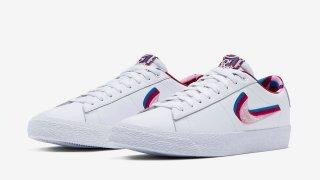 【7/26】パラ x ナイキ SB ブレーザーLow GT / Parra x Nike SB Blazer Low GT CN4507-100