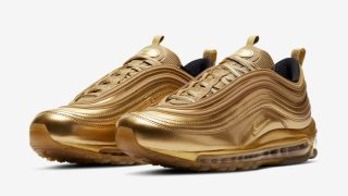 """【金メダル祈願】ナイキ エアマックス97 ゴールドメダル / Nike Air Max 97 """"Gold Medal"""" CT4556-700"""