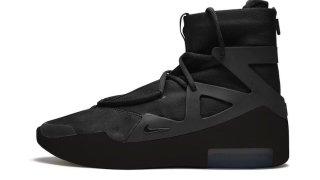 """【2/14】ナイキ エアフィアオブゴッド1 トリプルブラック / Nike Air Fear of God 1 """"Triple Black"""""""