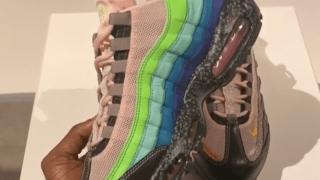 """【お披露目】サイズ? x ナイキ エアマックス95 20周年記念モデル / size? x Nike Air Max 95 """"20 Years of size?"""""""