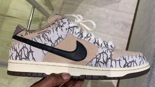 【お披露目】トラヴィス x ナイキSB ダンクロー 初期モデル / Travis Scott x Nike SB Dunk Low