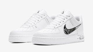 """【4/24】ナイキ エアフォース1 ロー スケッチパック / Nike Air Force 1 Low """"Sketch Pack"""" CW7581-101"""