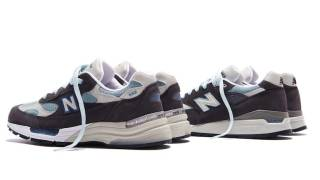 "【5/22】キス x ニューバランス992 / Kith x New Balance 992 ""Steel Blue"""