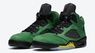 "【9/12】エアジョーダン5 SE オレゴン / Air Jordan 5 SE ""Oregon Ducks"" CK6631-307"