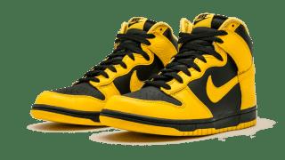 """【復刻?】ナイキ ダンクハイ アイオワ / Nike Dunk High """"Black Varsity Maize"""" CZ8149-002"""