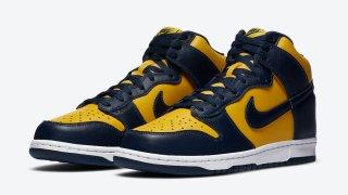 """【9/23】ナイキ ダンクハイ ミシガン / Nike Dunk High """"Michigan"""" CZ8149-700"""