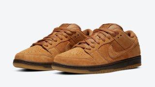 """【12/1】ナイキSB ダンクロー ウィート / Nike SB Dunk Low """"Wheat Mocha"""" BQ6817-204"""
