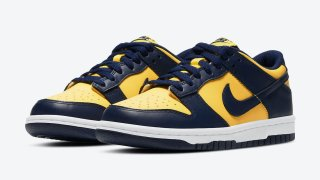 """【発売間近!?】ナイキ ダンク ロー ミシガン / Nike Dunk Low """"Michigan"""" DD1391-700"""
