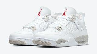 """【5/29】エアジョーダン4 ホワイトオレオ / Air Jordan 4 """"White Oreo"""" CT8527-100"""