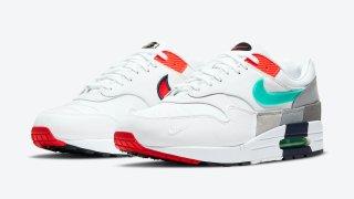 """【3/26】ナイキ エアマックス1 """"エボリューション オブ アイコンズ""""/ Nike Air Max 1 """"Evolution of Icons"""" CW6541-100"""