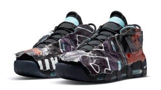 """【4/1】ナイキ エア モアアップテンポ マキシマム ボリューム / Nike Air More Uptempo """"Maximum Volume"""" DJ4633-010"""