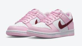 """【8/2】ナイキ ダンク ロー GS """"バレンタインカラー""""/ Nike Dunk Low GS """"Valentine's Day Colorway""""CW1590-601"""