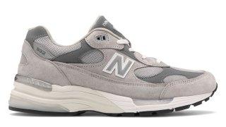 【9/23 リストック】ニューバランス 992 グレー / New Balance 992 Grey M992GR