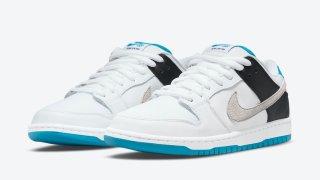 """【9/10】ナイキSB ダンク ロー """"レーザーブルー"""" / Nike SB Dunk Low """"Laser Blue"""" BQ6817-101"""