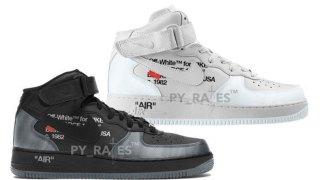 【2022】オフホワイト x ナイキ エアフォース1 ミッド / Off-White x Nike Air Force 1 Mid