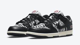"""【9/1】クウォータースナックス x ナイキSB ダンク ロー / Quartersnacks x Nike SB Dunk Low """"Zebra""""DM3510-001"""